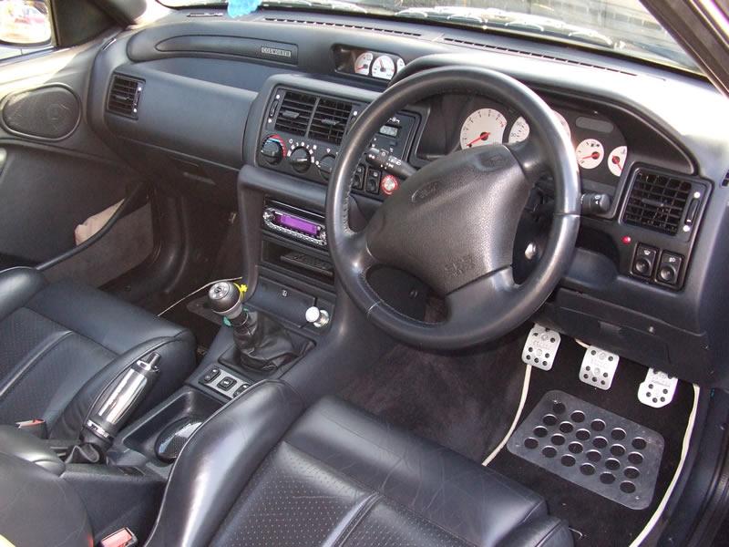 Escort Rs Cosworth For Sale Ash Black N Reg Beautiful